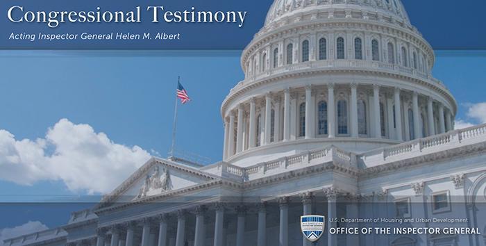 Congressional Testimony Banner