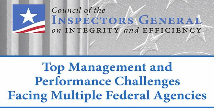 CIGIE Top Management and Performance Challenges Report